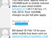 Fraud by airtel . Charged without giving appropriate information