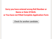 i m unable to download my admit card for ssc chsl