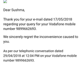 Deducted rs 2100 from my credit card as false bill