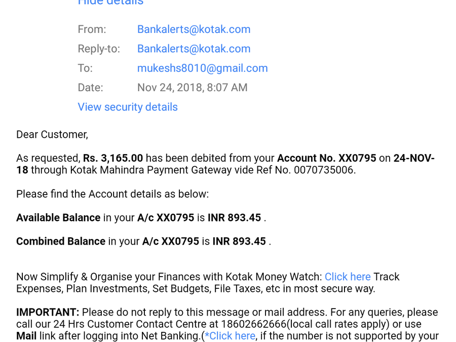 Kotak Mahindra Bank Complaints
