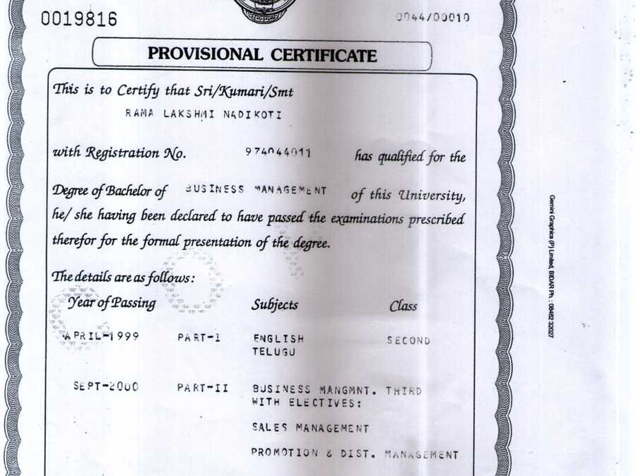Mba provisional certificate complaints yadclub Choice Image