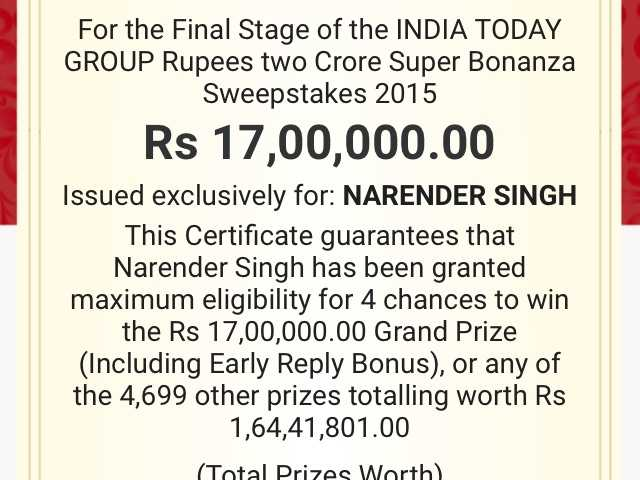 India Today Group Complaints