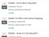 unable to make calls or receive calls